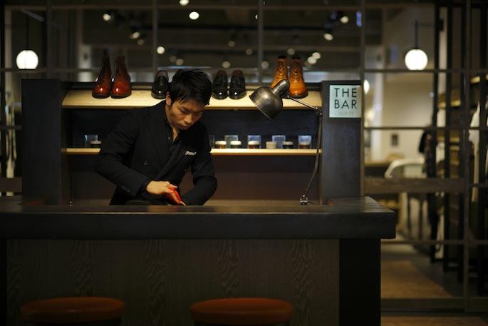長谷川裕也靴職人店舗