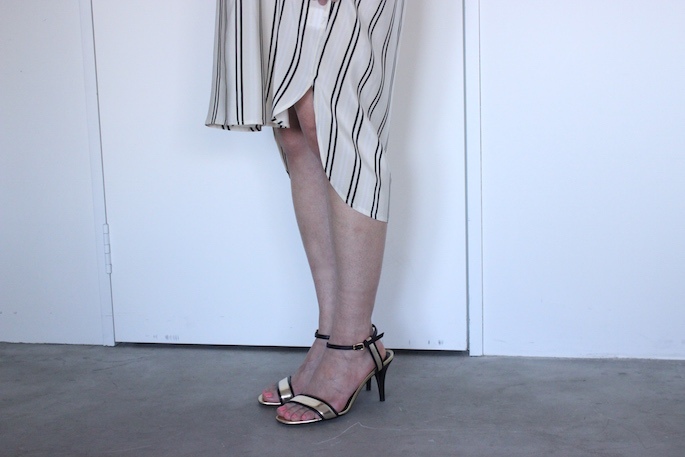 ALASDAIR <br /> TunicDress<br /> COLOR / Stripe<br /> SIZE / 0<br /> Made in USA<br /> PRICE / 92,000+tax<br /> <br /> MICHEL VIVIEN<br /> KIM <br /> COLOR / Black×Black,Black×Gold<br /> SIZE / 36,37,38<br /> Made in Italy<br /> PRICE / 73,000+tax