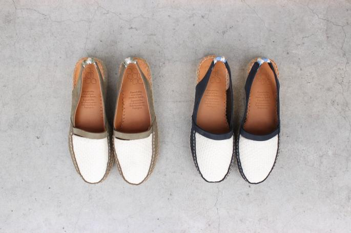 naguisa<br /> Hoian<br /> COLOR / Olive, Navy<br /> SIZE / 35, 36, 37, 38<br /> Made in Spain<br /> PRICE / 28,000+tax