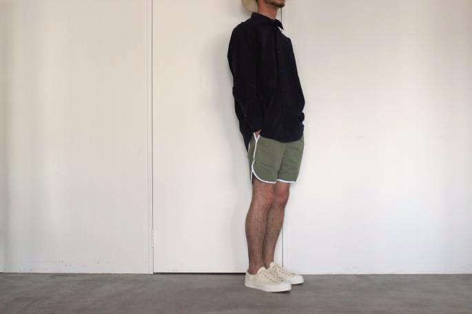 KENNETH FIELD<br /> Track&Field Ripstop<br /> COLOR / Orange,Olive<br /> SIZE / S,M,L<br /> Made in Japan<br /> PRICE / 12,000+tax<br /> <br /> COMOLI<br /> Comoli Shirt<br /> COLOR / Navy<br /> SIZE / 1,2<br /> Made in Japan<br /> PRICE / 22,000+tax<br /> <br /> YOUNG&OLSEN The DRYGOODS STORE <br /> Gymnastic Shoes <br /> COLOR / White,Indigo<br /> SIZE / 26,27<br /> Made in Japan<br /> PRICE / 13,000+tax