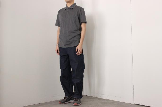 HEIGHT / 168㎝<br /> WEAR SIZE / L<br /> <br /> SUNSPEL<br /> Polo<br /> COLOR / Gray,Green<br /> SIZE / M,L<br /> Made in england<br /> PRICE / 14,000+tax<br /> <br /> COMOLI<br /> Belted Denim Pants<br /> COLOR / Navy,Sax<br /> SIZE / 1,2<br /> Made in japan<br /> PRICE / 27,000+tax