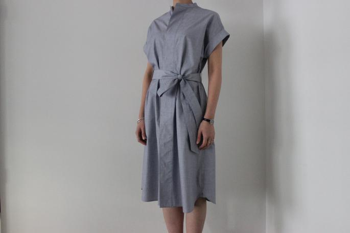 HEIGHT / 155㎝<br /> WEAR SIZE / 0<br /> <br /> Phlannel <br /> End On One-Piece <br /> COLOR / Sax<br /> SIZE / 0,1<br /> Made in Japan<br /> PRICE / 25,000+tax