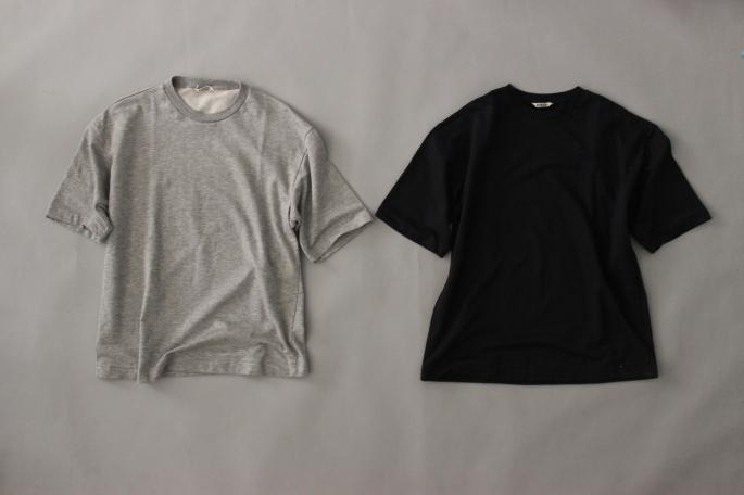 HEIGT / 168㎝<br /> WEAR SIZE / 4<br /> <br /> AURALEE<br /> Super High Gauze Sweat Tee<br /> COLOR / Gray,Navy<br /> SIZE / 4<br /> Made In Japan <br /> PRICE / 12,000+tax