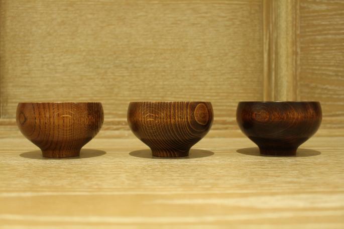 我戸幹男商店<br /> 楢椀(Left)<br /> 橅椀(Center)<br /> 桜椀(Right)<br /> Made in Japan<br /> PRICE / 3,500+tax<br />