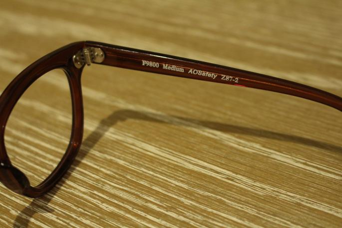 VINTAGE<br /> 90s' AMERICAN OPTICAL Safety <br /> COLOR / Brown,Black<br /> SIZE / 46,48,50<br /> Made In USA<br /> PRICE / 15,000+tax