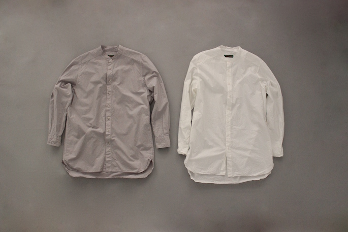 HEIGHT / 168cm<br /> WEAR SIZE / S<br /> <br /> CASEY CASEY<br /> SHIRT PAPER <br /> COLOR / Gray<br /> SIZE / S<br /> PRICE / 48,000+tax<br /> <br /> PANT WOOL TWILL<br /> COLOR / Black<br /> SIZE / S<br /> PRICE / 59,000+tax<br /> Made In France<br /> <br /> forme<br /> buttonted up shoes<br /> COLOR / Black<br /> Made In Japan<br /> PRICE / 74,000+tax
