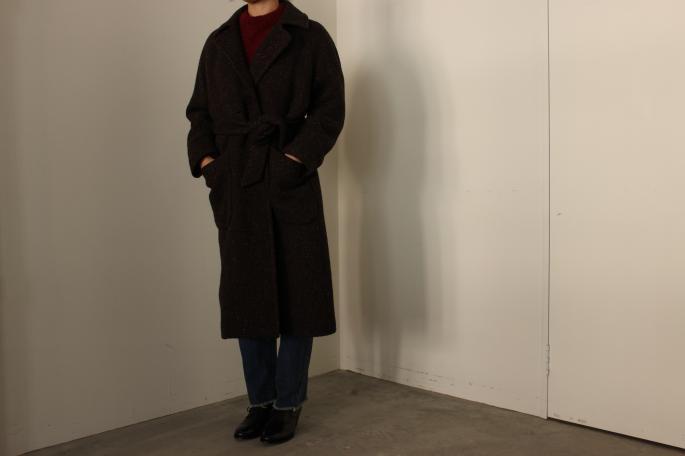 HIGHT / 159cm<br /> WEAR SIZE / 0<br /> <br /> Phlannel<br /> Mix Wool Belted Coat<br /> COLOR / Black,Brown<br /> SIZE / 0,1<br /> Made In Japan<br /> PRICE / 86,000+tax<br /> <br /> Phlannel<br /> Hand Knitted Diagonal Mohair<br /> COLOR / Black,Bordeaux<br /> SIZE / 0,1<br /> Made In Japan<br /> PRICE / 60,000+tax<br /> <br /> SOSO PHLANNEL<br /> Selvage Denim Straight<br /> COLOR / Indigo<br /> SIZE / 34,36,38<br /> Made In Japan<br /> PRICE / 30,000+tax<br /> <br /> forme<br /> Blucher Plain Toe<br /> COLOR / Black<br /> SIZE / 21/2,3,31/2,4<br /> Made In Japan<br /> PRICE / 58,000+tax<br />