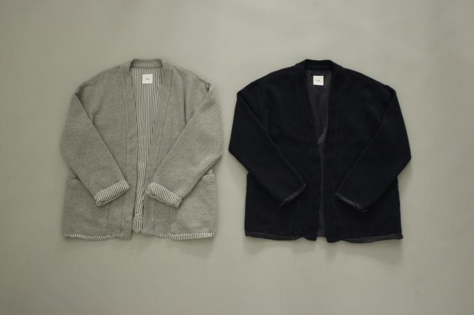 HIGHT / 177cm<br /> WEAR SIZE / 2<br /> <br /> ts(s) <br /> Lined Easy Cardigan <br /> COLOR / Gray,Navy<br /> SIZE / 1,2<br /> PRICE / 29,000+tax<br /> <br /> ts(s) <br /> Comb Border Stripe T-Shirt<br /> COLOR / Light Blue,Navy,Ice Gray<br /> SIZE / 1,2<br /> PRICE / 15,500+tax<br /> <br /> Made In Japan