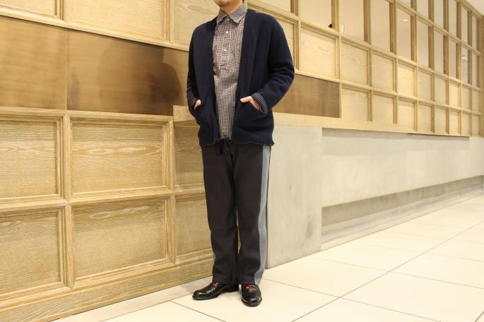 HIGHT / 168cm<br /> WEAR SIZE / M<br /> <br /> ts(s) <br /> Lined Easy Cardigan <br /> COLOR / Gray,Navy<br /> SIZE / 1,2<br /> Made In Japan<br /> PRICE / 29,000+tax