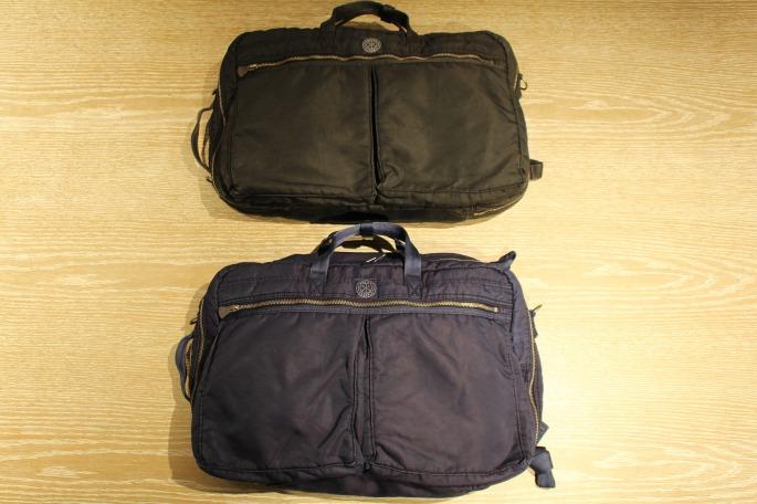HIGHT / 177cm<br /> WEAR SIZE / M<br /> <br /> Porter Classic<br /> Super Nylon 3Way Briefcase L <br /> COLOR / Blue,Black<br /> Made In Japan<br /> PRICE / 58,000+tax <br /> <br /> Phlannel<br /> Li/Co Herringbone Coat<br /> COLOR / Walnut<br /> SIZE / S,M,L<br /> Made In Japan<br /> PRICE / 76,000+tax