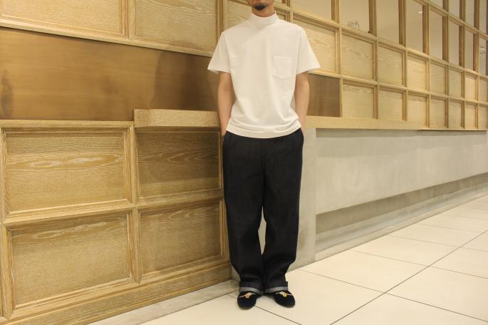 HIGHT / 173cm <br /> WEAR SIZE / 38<br /> <br /> Scye<br /> Mock Neck T Shirts <br /> COLOR / Off White,Light Beige,Black<br /> SIZE / 36,38<br /> Made In Japan<br /> PRICE / 12,000+tax<br /> <br /> KIJI<br /> Cotton Tencel Denim MOEGI<br /> COLOR / INDIGO<br /> SIZE / 1,2,3,4,5<br /> Made In Japan<br /> PRICE / 20,000+tax<br /> <br /> Tricker's for KIJI<br /> CHURCHILL (Men's),VICTORIA (Women's)<br /> COLOR / Green,Navy,Black<br /> SIZE / 7, 7.5, 8, 8.5 (Men's)4, 4.5, 5, 5.5(Women's)<br /> Made In England<br /> PRICE / 46,000+tax