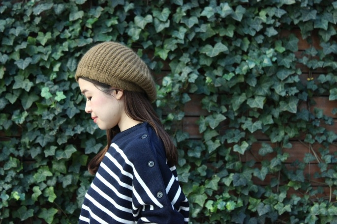 Mohair Beret / 10,000+tax