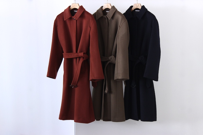 AURALEE×BLOOM&BRANCH Soutien Collar Coat<br />