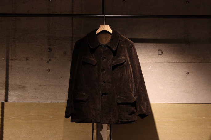 40's Corduroy Work Jacket / 34,300+tax