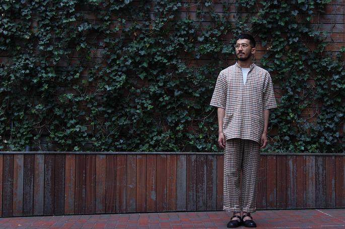 Phlannèl / Cotton Alpaca Lawn Pullover Shirt / TOMITA