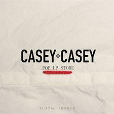 CASEY CASEY POP UP STOREを開催中です