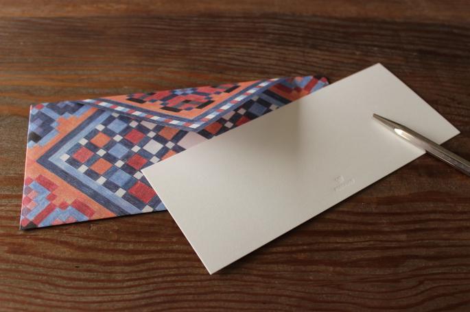 POSTALCO<br /> Handkerchief Envelope<br /> Made in JAPAN<br /> PRICE / 1,200+tax(6pcs)<br /> <br /> POSTALCO<br /> Plain Cards<br /> Made in JAPAN<br /> PRICE / 700+tax(12pcs)<br />