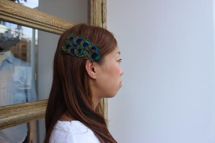 Jennifer Ouellette<br /> Headband<br /> Made in USA<br /> PRICE / 8,400+tax (Denim,Camo)