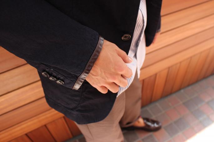 Phlannel<br /> Indigo Duck Shoe Shine Apron <br /> COLOR / Indigo<br /> SIZE / S.M.L<br /> Made in Japan<br /> PRICE / 50.000+tax<br /> <br /> Phlannel<br /> Suvin OX B.D. Shirt<br /> COLOR / White,Royal Blue ,Stripe<br /> SIZE / S.M.L<br /> Made in Japan<br /> PRICE / 2.2000+tax<br /> <br />