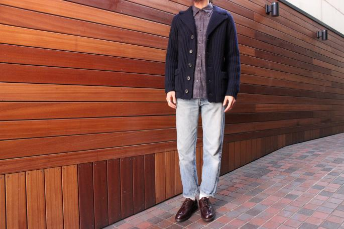 Phlannel <br /> Lambswool Knit Jacket<br /> COLOR / Gray,Navy<br /> SIZE / M.L<br /> Made in Japan<br /> PRICE / 38,000+tax<br /> <br /> ts(s)<br /> Cotton Omber&Hound Tooth Comb B.D shirt<br /> COLOR / Navy,Khaki<br /> SIZE / M.L<br /> Made in Japan<br /> PRICE / 20.000+tax<br /> <br /> SANDERS<br /> Broad Arrow Apron Derby<br />  COLOR / Black,Burgundy<br /> SIZE / 6,7H,8<br /> Made in England<br /> PRICE / 44.000+tax<br /> <br /> <br /> <br /> <br />
