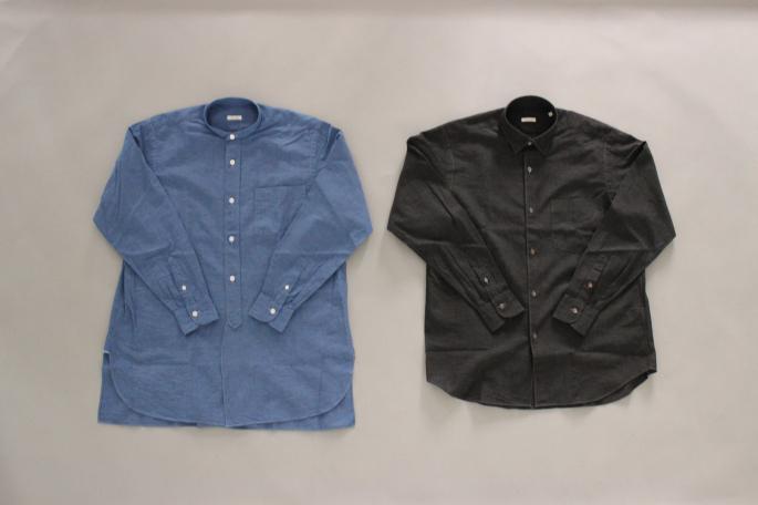 HEIGHT / 175cm<br /> WEAR SIZE / 2<br /> <br /> COMOLI <br /> Solid Shanshirts Jacket <br /> COLOR / Blue,Black<br /> SIZE / 1,2<br /> PRICE / 36,000+tax<br /> <br /> Solid Shandrawstring  Pants<br /> COLOR / Blue,Black<br /> SIZE / 1,2<br /> PRICE / 29,000+tax<br /> <br /> Made in Japan<br /> <br /> NORTH SEA CLOTHING<br /> Deck Shoe Slipon<br /> COLOR / Navy,Ecru<br /> SIZE / 41,42,43<br /> PRICE / 14,000+tax <br /> <br />