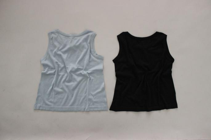 HEIGHT / 155㎝<br /> WEAR SIZE / 0<br /> <br /> JOHN SMEDLEY<br /> Picnic<br /> COLOR / Blue Glass,White<br /> SIZE / S,M<br /> Made In England<br /> PRICE / 26,000+tax<br /> <br /> Linen Twill Trousers<br /> COLOR / White,Black,Beige<br /> SIZE/ 0,1<br /> Made In Japan<br /> PRICE / 24,000+tax