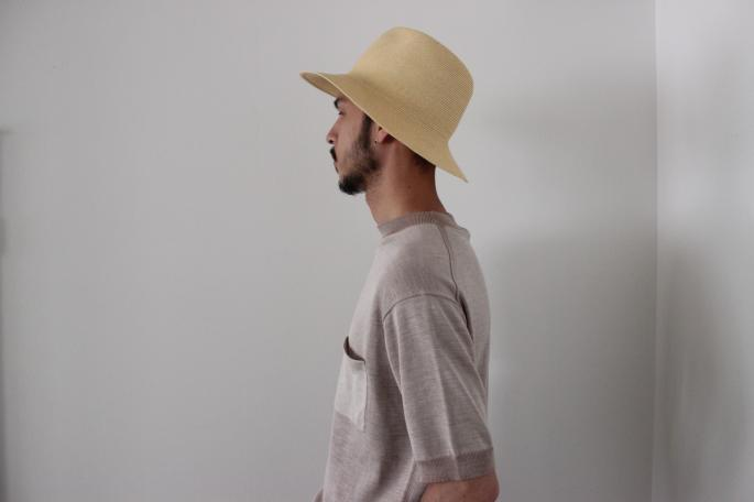 HEIGHT / 169㎝<br /> WEAR SIZE / 36<br /> <br /> KIJIMA TAKAYUKI<br /> Paper Cross Metro Hat<br /> COLOR / Navy,Gray<br /> SIZE / 2<br /> PRICE / 13,000+tax<br /> <br /> Scye<br /> 160 / 3 Shuttle Chambray Band Collar Pullover<br /> COLOR / Gray,Sage Green<br /> SIZE / 36,38<br /> PRICE / 25,000+tax<br /> <br /> Made In Japan
