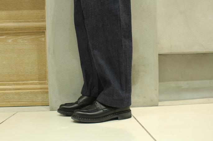 Paraboot<br /> Chambord<br /> COLOR / Black<br /> SIZE / 6H,7,7H<br /> Made IN France<br /> PRICE / 65,000+tax