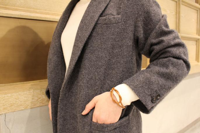HIGHT / 164cm<br /> WEAR SIZE / 0<br /> <br /> Phlannel<br /> <br /> Knittig Yarn Twill Gown Coat <br /> COLOR / Navy,Charcoal<br /> SIZE / 0,1<br /> PRICE / 74,000+tax<br /> <br /> Wool / Cotton / Silk Thermal Turtleneck Knit<br /> COLOR / White,Grey,Beige,Bordeaux<br /> SIZE / 0,1<br /> PRICE / 24,000+tax<br /> <br /> SCYE BASICS<br /> Chinos Oxford Bags<br /> COLOR / Beige<br /> SIZE / 36,38<br /> PRICE / 26,000+tax<br /> <br /> Made In Japan<br /> <br /> VINTAGE HERMES <br /> Vintage Scarf<br /> PRICE / 34,000+tax<br /> <br /> Tricker's<br /> Vintoria<br /> COLOR / Brown Velvet<br /> SIZE / 4,5,6<br /> Made In England<br /> PRICE / 36,000+tax<br />  <br />