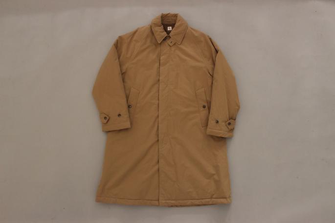 HEIGHT / 173cm<br /> WEAR SIZE /38<br /> <br /> KAPTAIN SUNSHINE <br /> Padding Traveller Coat <br /> COLOR / Navy,Beige<br /> SIZE / 36,38<br /> Made In Japan<br /> PRICE / 66,000+tax <br /> <br /> Phlannel<br /> Wo/Co/Si Thermal Mockneck Knit<br /> COLOR / White,Gray,Beige,Bordeaux<br /> SIZE / S,M,L<br /> PRICE / 24,000+tax <br /> <br /> Moleskin Military Trousers<br /> COLOR / Camel,Navy<br /> SIZE / S,M,L<br /> PRICE / 29,000+tax <br /> <br /> Made In Japan