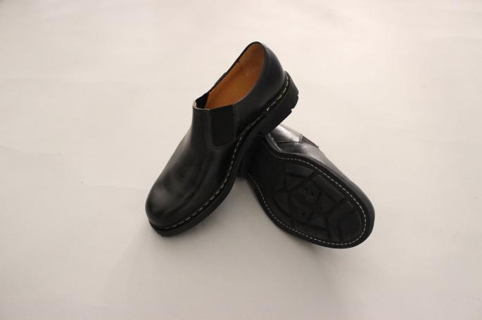 Paraboot<br /> Photon<br /> COLOR / Noir<br /> SIZE / 6,6.5,7,7.5<br /> Made In France<br /> PRICE / 58,000+tax