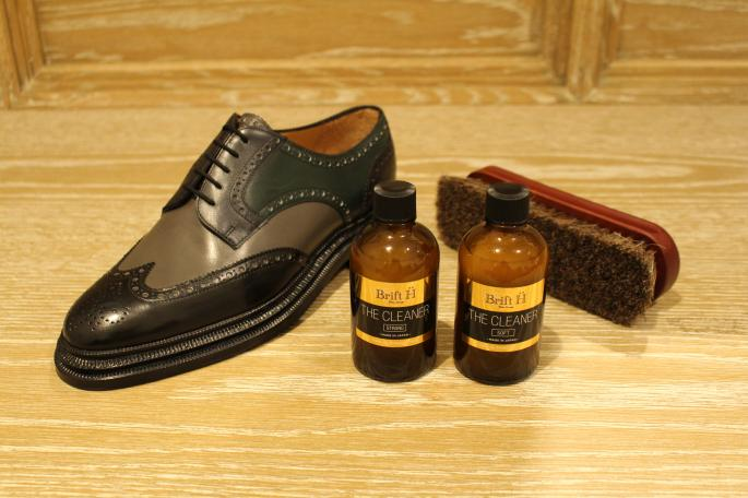 Le Yucca's<br /> Multicolor Full Brogue<br /> COLOR / Multi<br /> SIZE / 40,40h,41,41h<br /> Made In Itary<br /> PRICE / 153,000+tax<br /> <br /> Brift H<br /> The Cleaner Strong<br /> PRICE / 2,000+tax<br /> <br /> The Cleaner Soft<br /> PRICE / 2,000+tax<br /> <br /> Collonil<br /> Horsehair Brush<br /> PRICE / 1,500+tax