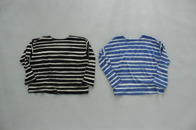 HIGHT / 177cm<br /> WEAR SIZE / 3<br /> <br /> PORTER CLASSIC<br /> Artist Border Long T-Shirt<br /> COLOR / Black,Blue<br /> SIZE / 2,3<br /> Made In Japan<br /> PRICE / 22,000+tax <br /> <br /> OUTIL<br /> Pantalon Metz<br /> COLOR / Ecru<br /> SIZE / 1,2<br /> Made In France<br /> PRICE / 20,000+tax<br /> <br /> HERUE<br /> Avaiol<br /> COLOR / Black<br /> SIZE / 40,41,42<br /> Made In Spain<br /> PRICE / 31,500+tax
