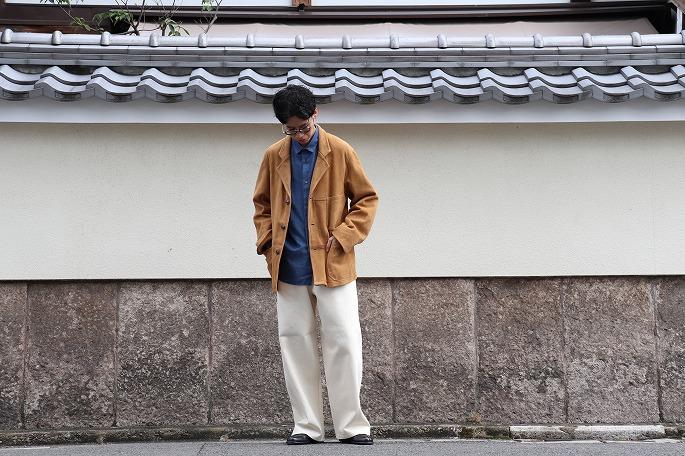 OLDMAN'S TAILOR for BLOOM&BRANCH / Suede Work Jacket / 20.9.19- Release / Terashima