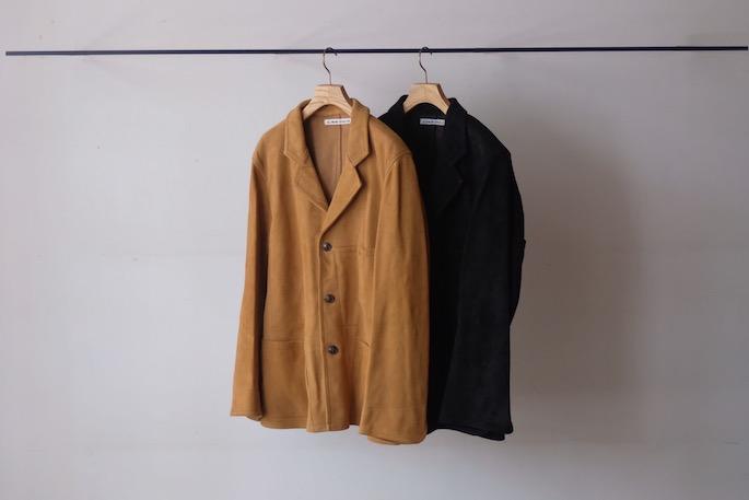 OLDMAN'S TAILOR for BLOOM&BRANCH<br /> Suede Work Jacket<br /> COLOR / Camel,Black<br /> SIZE / 38,40<br /> PRICE / 98,000+tax