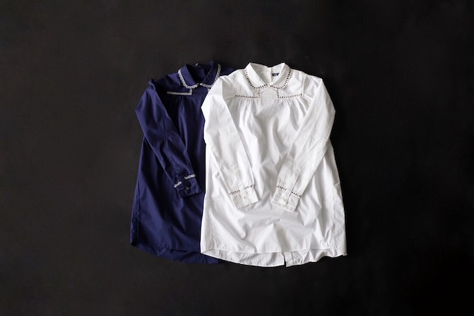 JUPE BY JACKIE for BLOOM&BRANCH<br /> Shirt<br /> COLOR / White,Navy<br /> SIZE / S,M<br /> PRICE / 42,000+tax