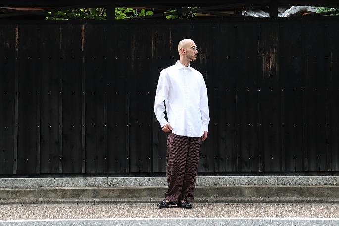 Phlannèl / Cotton Silk Komon Pajamas Pants, Pajama Shirt / Kajiwara